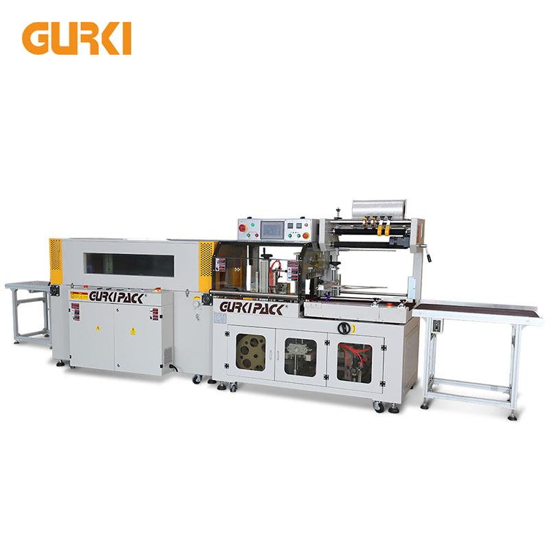 Μέχρι 40 PCS / λεπτό Αυτόματη μηχανή συρρίκνωσης με θερμότητα GPL-5545C + GPS-5030LW