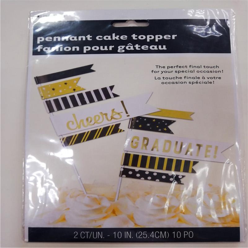Πεντικιούρ κέικ Topper Σημαία fanion pour gateau
