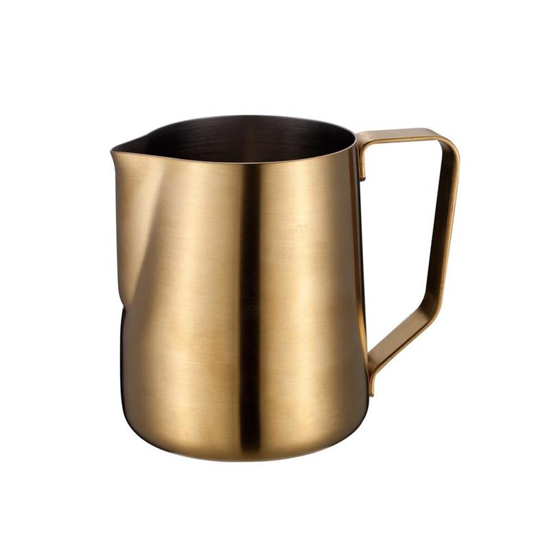 14-ικανότητα κλασικό ανοξείδωτο χάλυβα εσπρέσο αφρίζοντας στάμνες γάλακτος για latte τέχνης