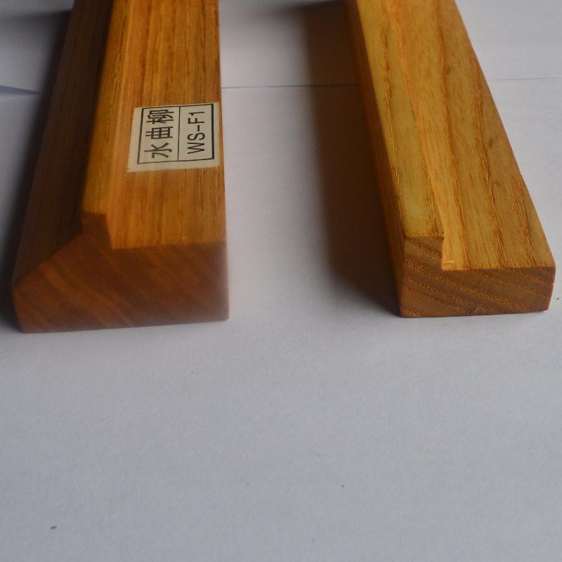 Προσαρμοσμένη κορνίζα από συμπαγές ξύλο (Fraxinus mandshurica Rupr)