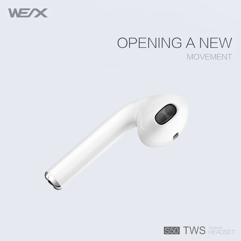 WEX S50 TWS ακουστικά, αληθινά ασύρματα στερεοφωνικά ακουστικά