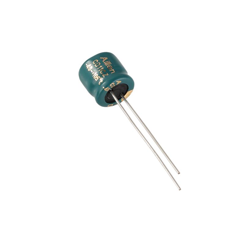 Ηλεκτρολυτικός πυκνωτής αλουμινίου CD11EZ Plug-in