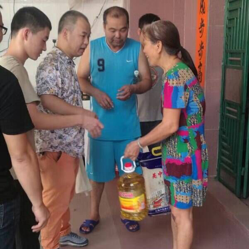 Shengjia φιλανθρωπία το Σεπτέμβριο του 2019