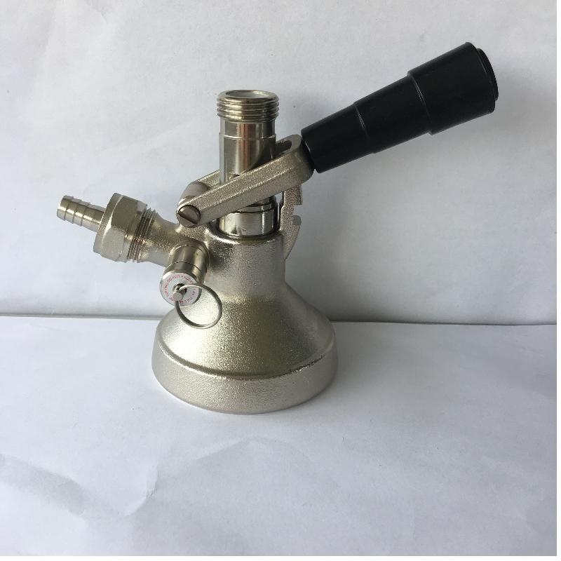 Τύπος Ζ Ζυγός ζυγίσματος μπύρας με βαλβίδα εκτόνωσης πίεσης Εργονομικός σχεδιασμός μοχλού χειρισμού με ανοξείδωτο ατσάλι