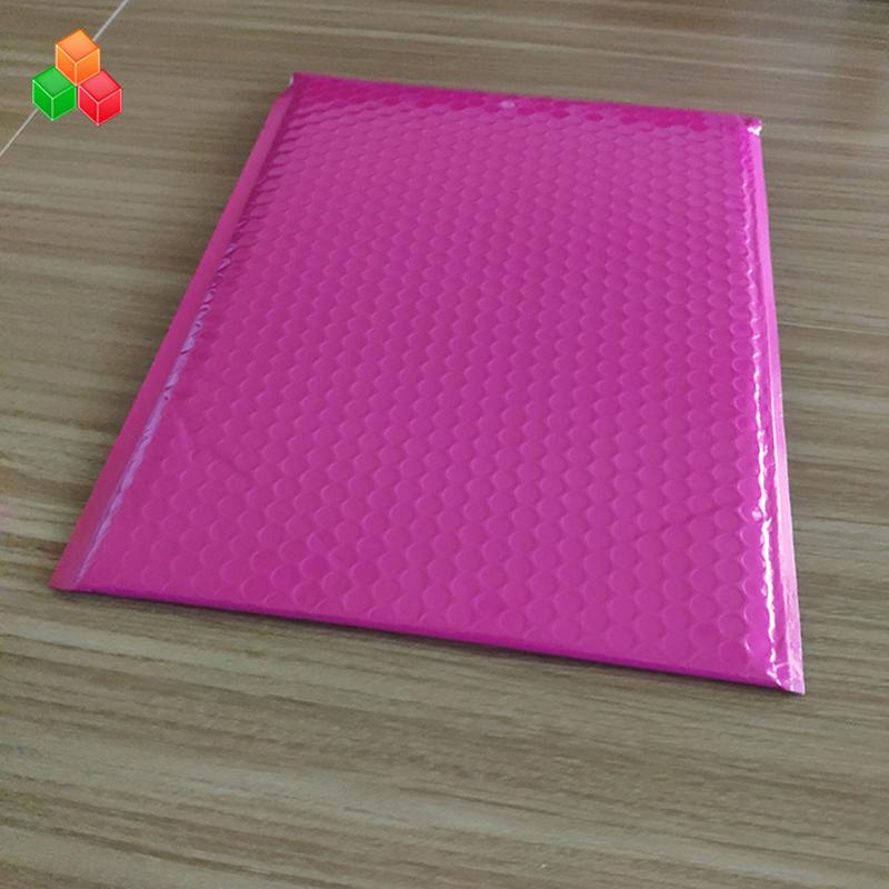 Προσαρμοσμένο μέγεθος shockproof συσκευασία μεταφοράς μαργαριτάρι φυσαλίδας φυσαλίδας φιλμ / αδιάβροχο ανθεκτικό λευκό ροζ μαργαριτάρι τσάντα ταινία