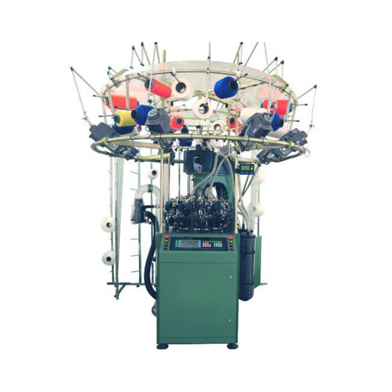 Μηχανογραφημένη μηχανή πλεξίματος χωρίς ραφή