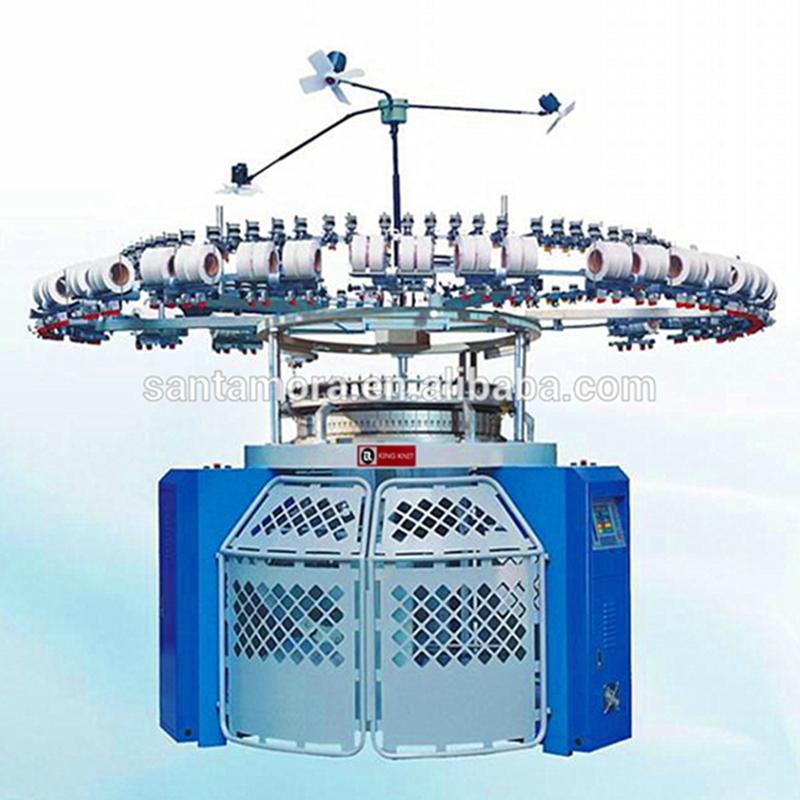 Ηλεκτρονική κυκλική κυκλική μηχανή πλεξίματος μονό-φανέλα