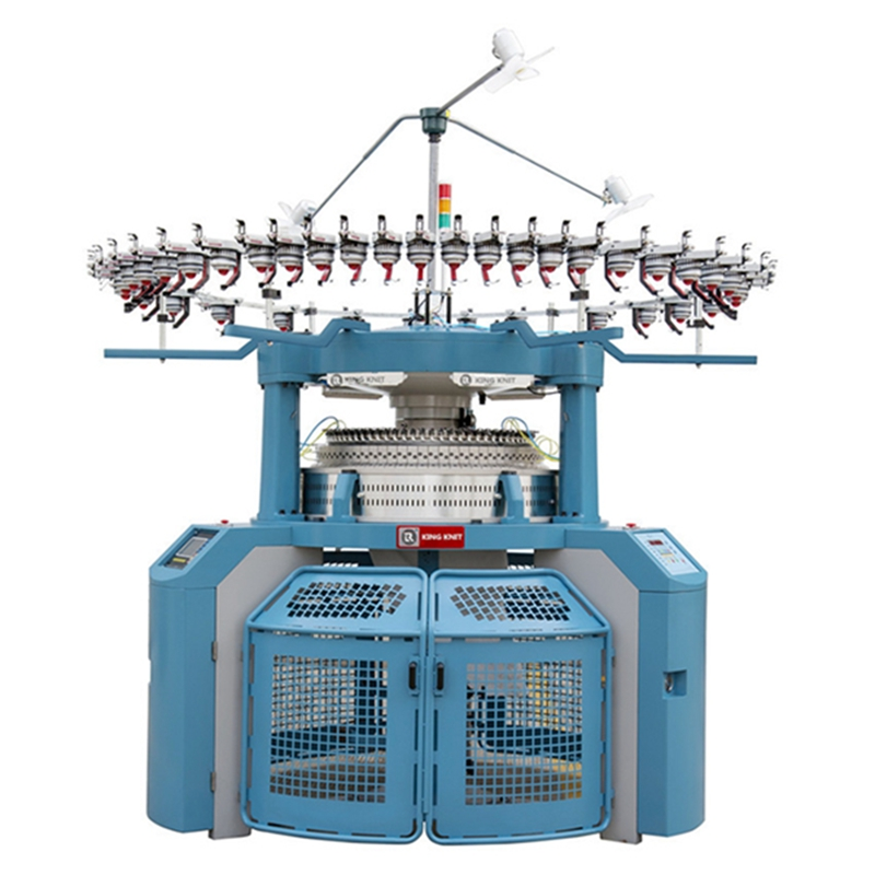 κατασκευαστής κυκλικών μηχανών πλεξίματος διπλής φανέλας 4