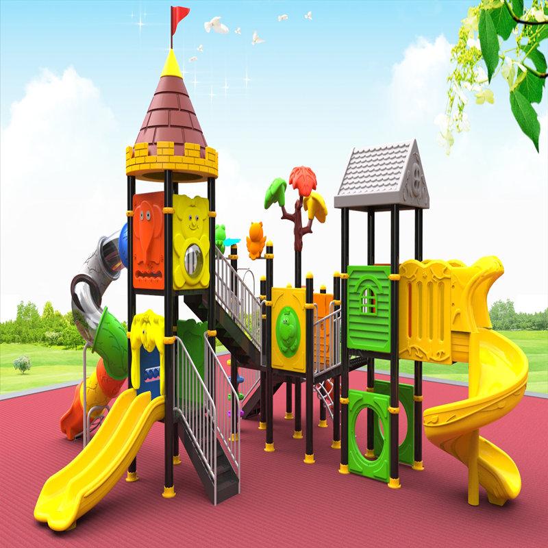υπαίθρια εξοπλισμό παιδικής χαράς με παιδιά παιδικά παιχνίδια slide games για παιδιά
