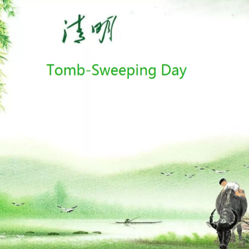 China Tomb-Sweeping Day Office on April 2, 2020