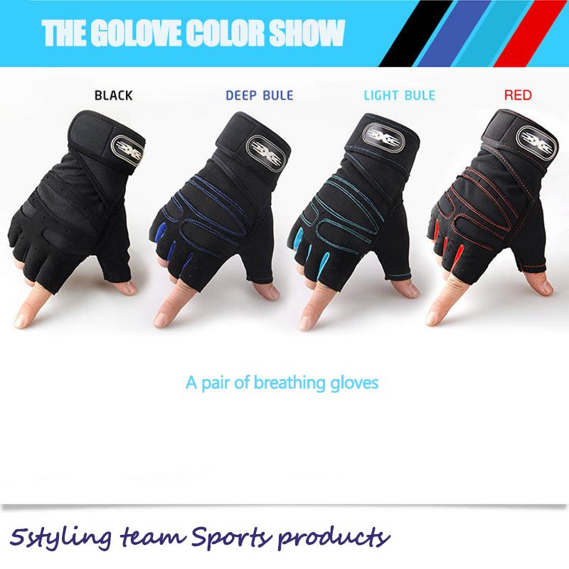 Ανύψωση αθλητικών και γυμναστικών ανδρικών γαντιών με μισό δάχτυλο, γάντια ποδηλασίας εξωτερικού χώρου, τακτική γρήγορη πώληση στο εξωτερικό εμπόριο