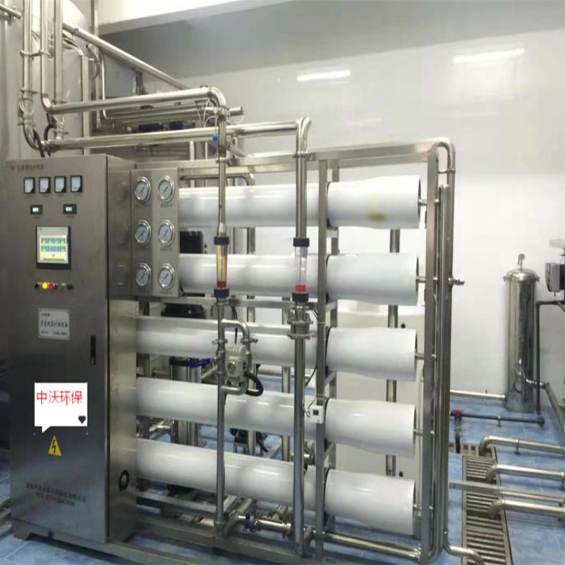 10 τόνοι/ώρα δευτερογενής αναστρέψιμη όσμωση καθαρό υδάτινο σύστημα